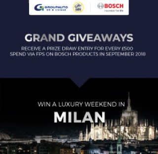 Grand giveaway advert